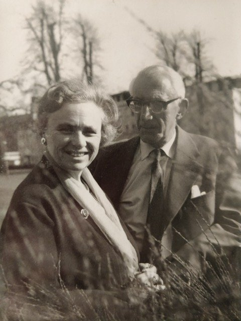 Picture of Jenny & Max Lewisohn taken 30 April 1960